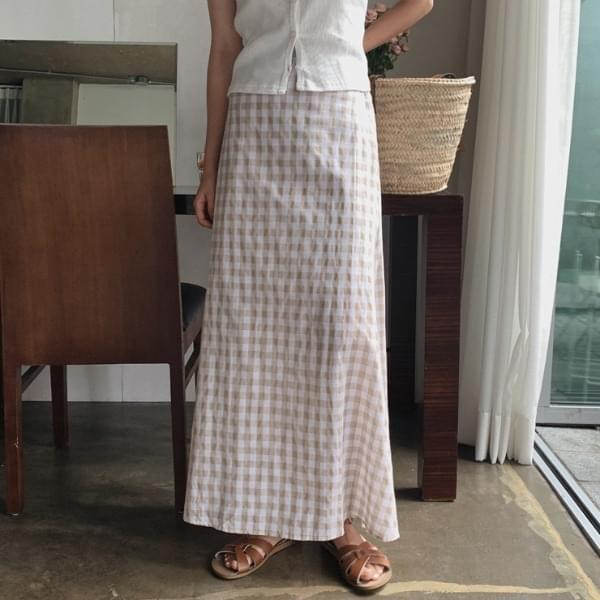 Crazy Check Skirt