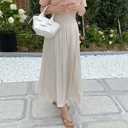 Darby Flare Long Skirt