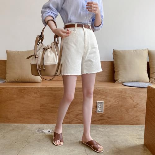 Weekly cotton half pants