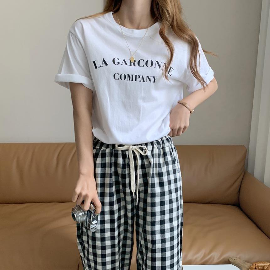 Free Garsong Lettering T-shirt