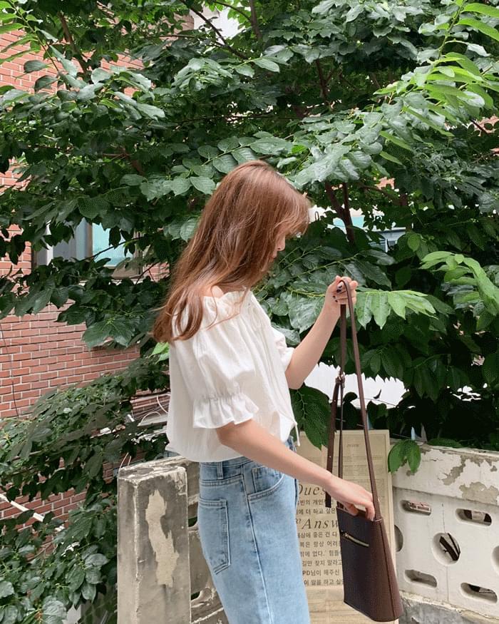 Erina 2 way off shoulder blouse