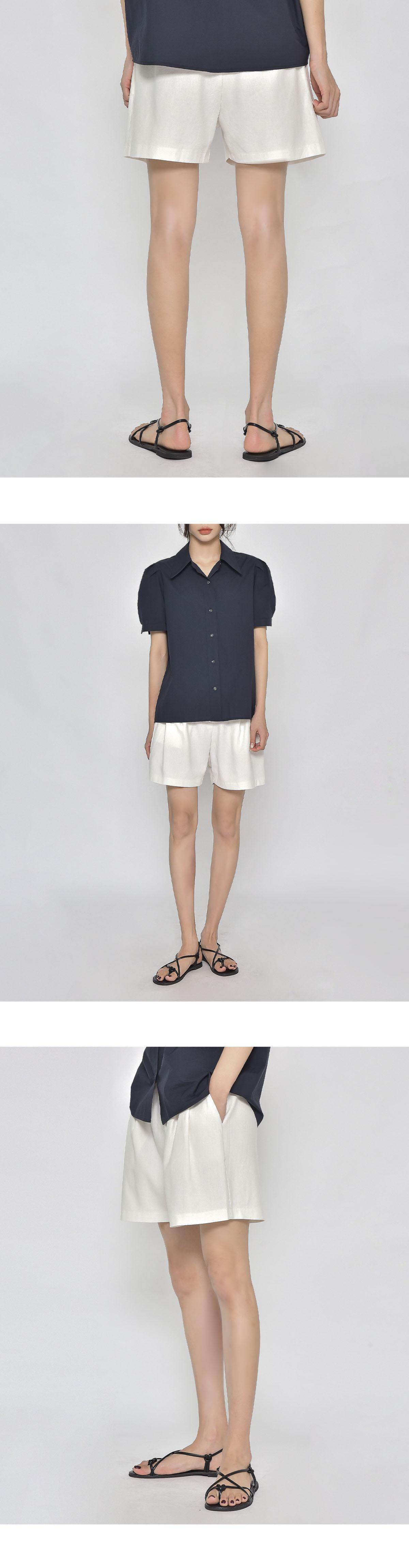 Ford linen half pants