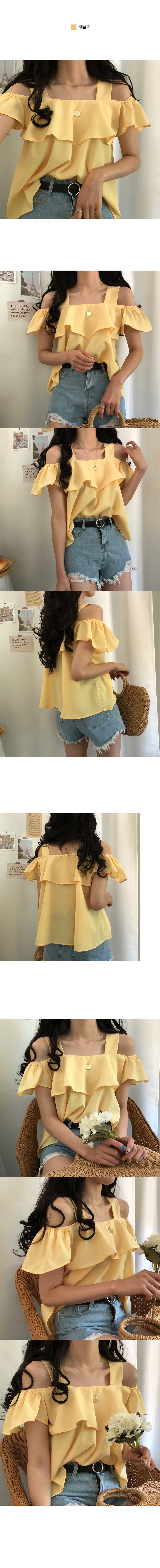 Angel wing off shoulder blouse