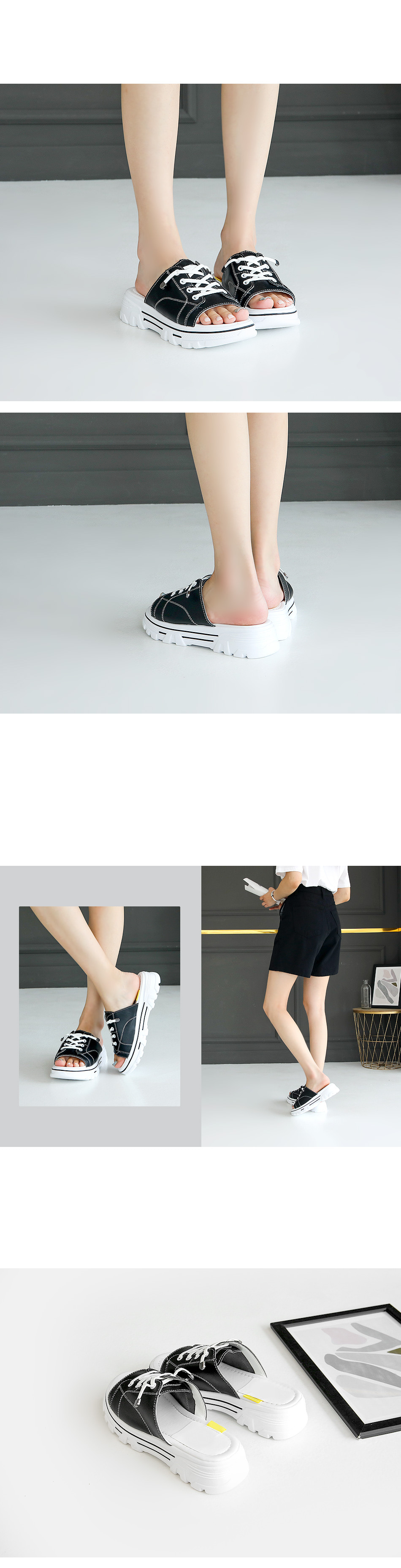 LEVOLT sneakers sneakers whole slippers 4cm