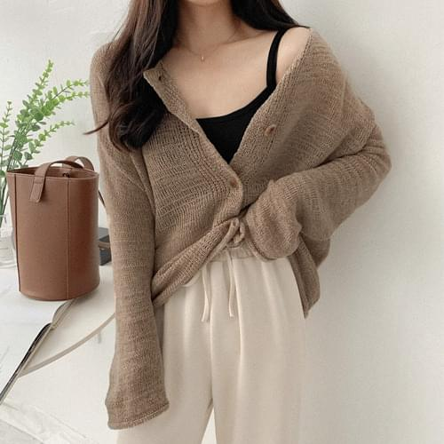 Shuria double-sided cardigan