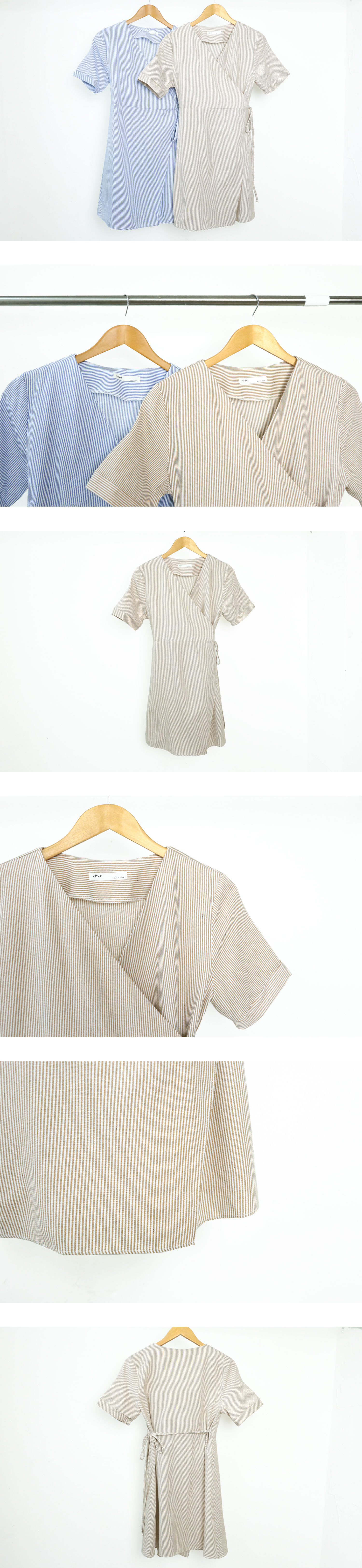 Baguette Lab Ribbon Mini Dress