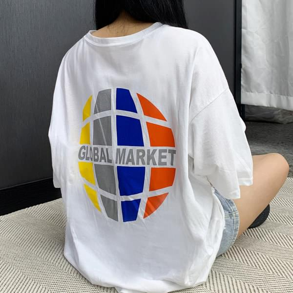 Global Boxy Short Sleeve Tee