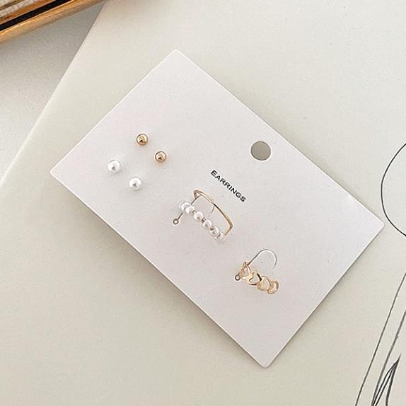 Ear Cuff Earrings SET♥ 4-piece set :)