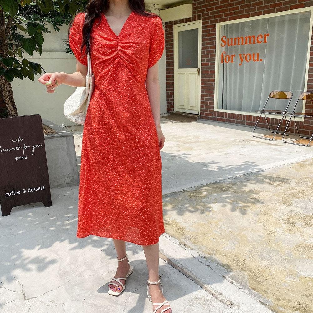 Flower Onyx Dress
