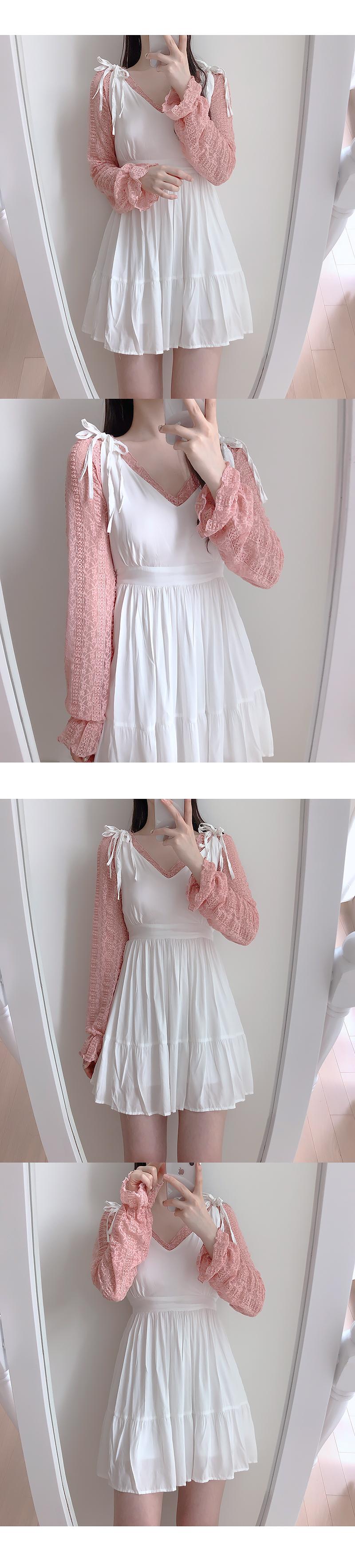 Mardi Mini Ribbon Dress