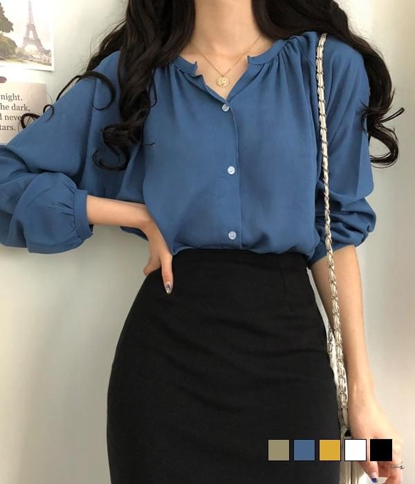 Riley linen blouse (Delayed delivery)