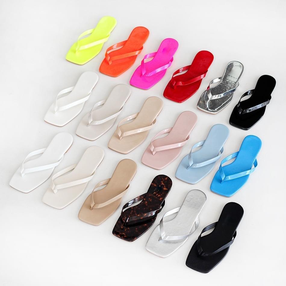 Remedy Slippers 1cm