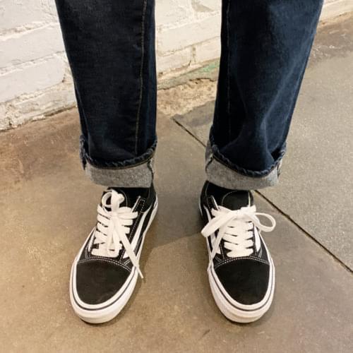 Semi-Date Fit Cotton Denim Pants P#YW381