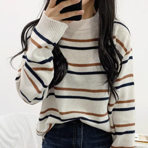 Tangara color point knit T#YW043