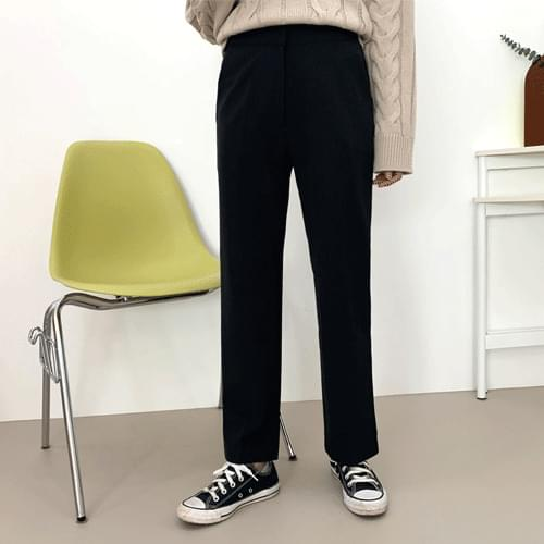 Basic Straight Fit Slacks P#YW404