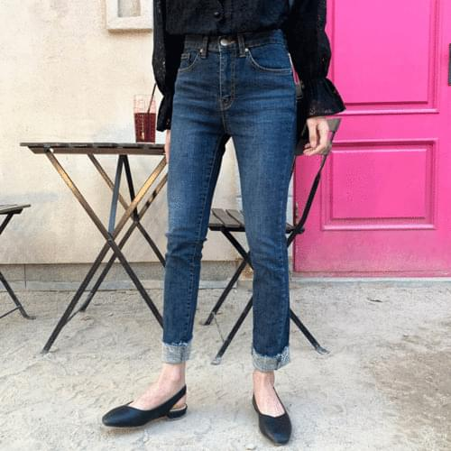 Daily Jincheng Slim Date Fit Cutting Jean P#YW373