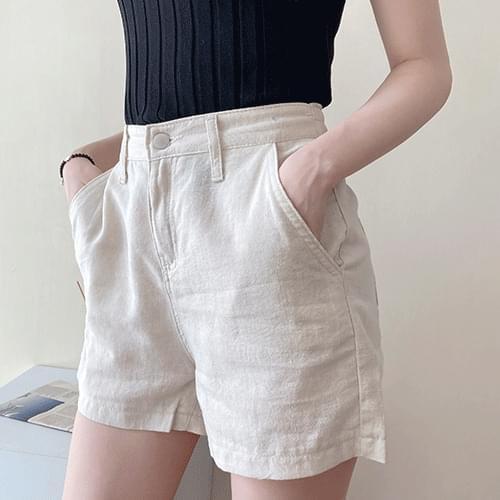 Basic Daily Banding Short Pants P#YW466