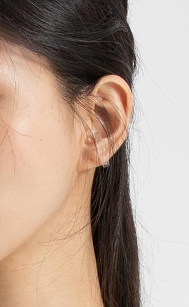 Summer clear ear cuff
