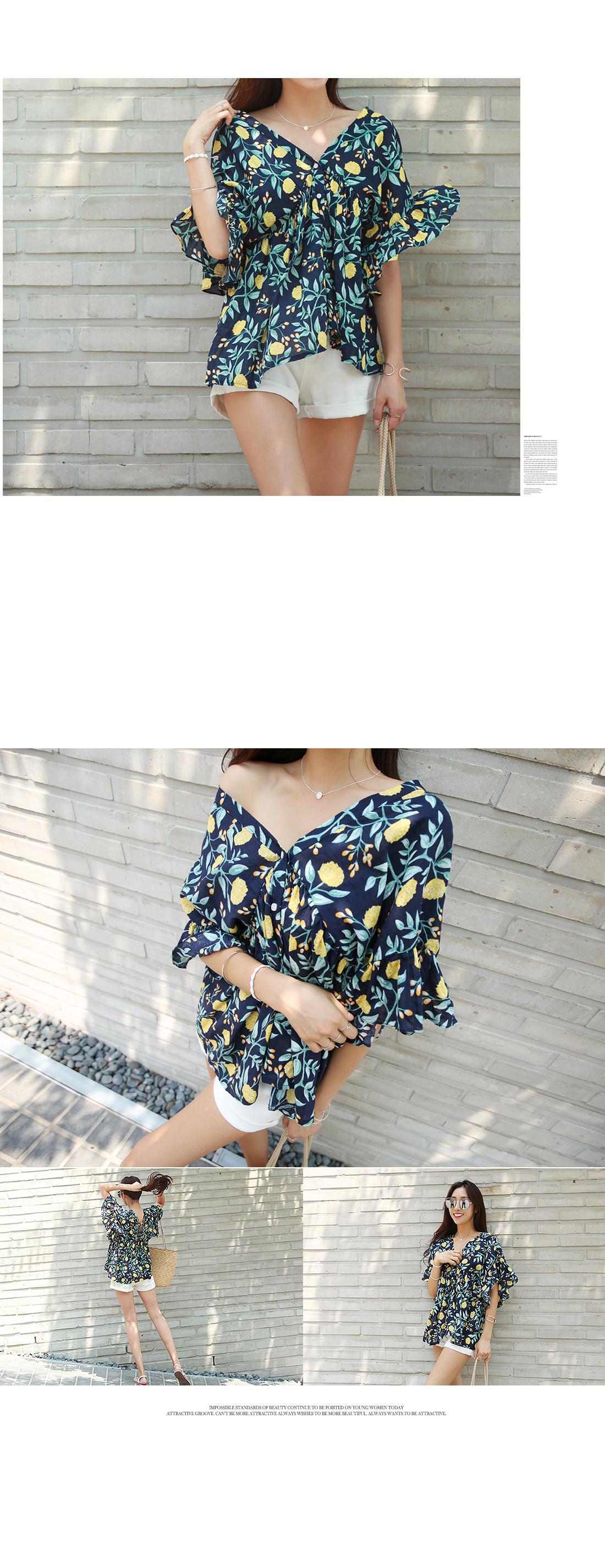 Taylor backline strap blouse #44156