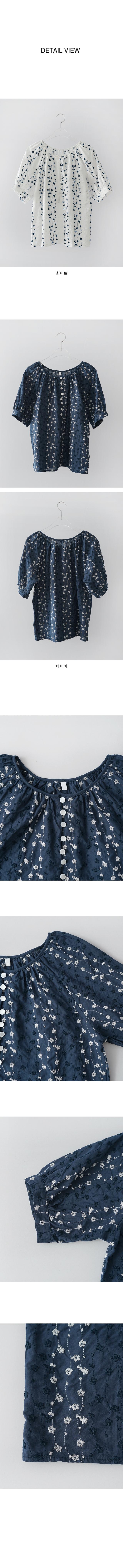 needlepoint raglan blouse