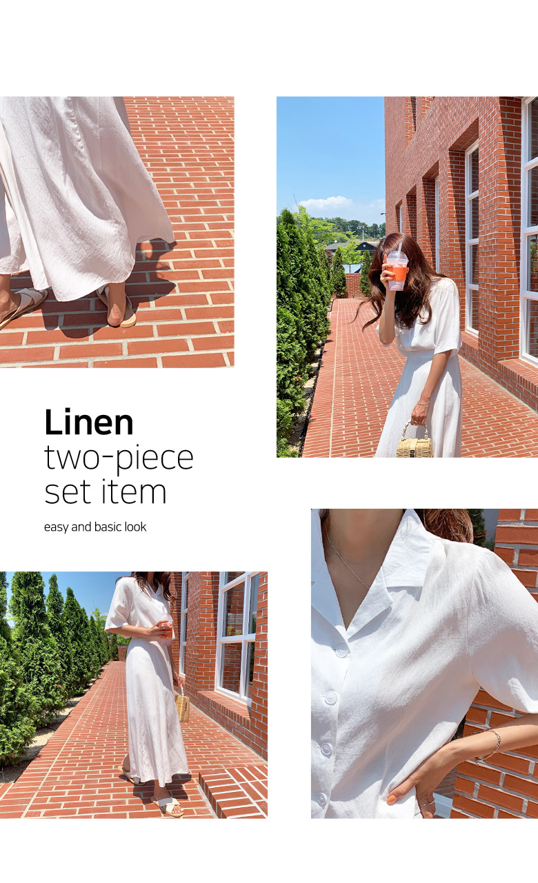 Elbit Linen Two Piece Set