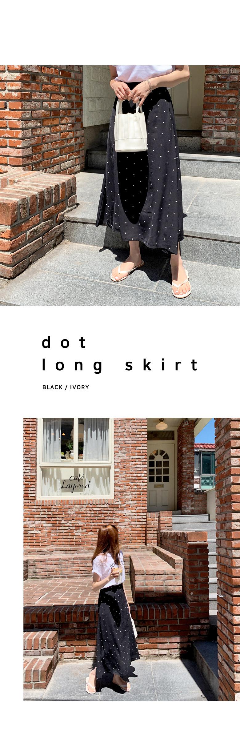 Benidorm Flare Long Skirt