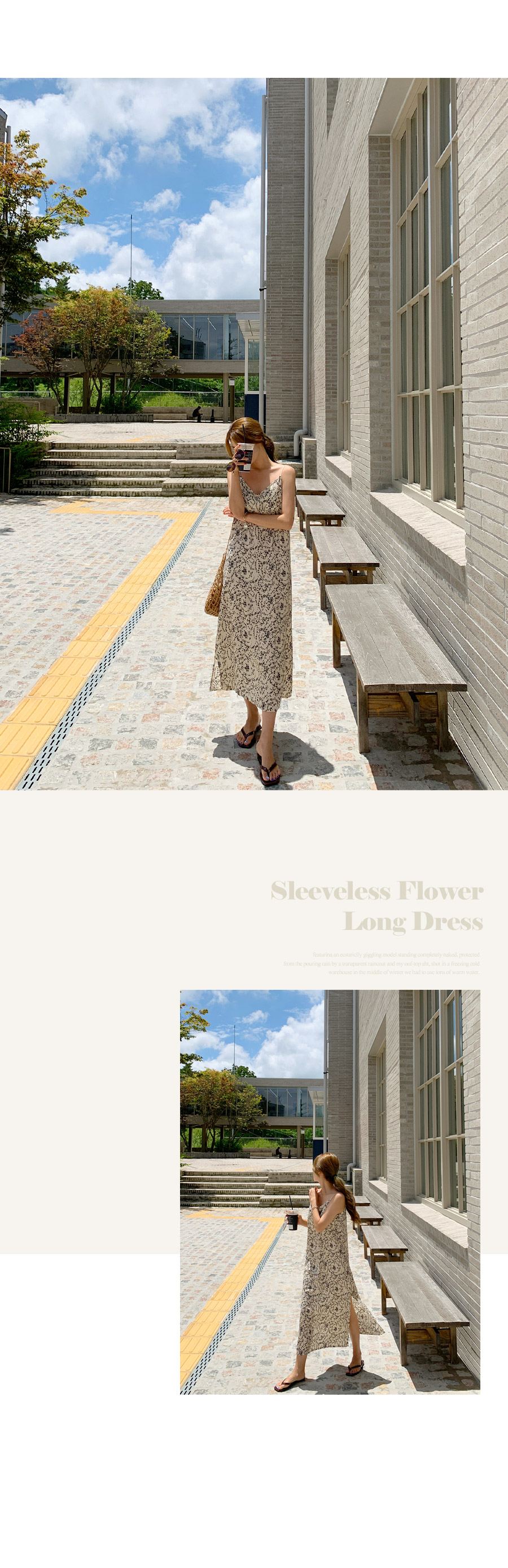 Twosley Bliss Flower Long Dress