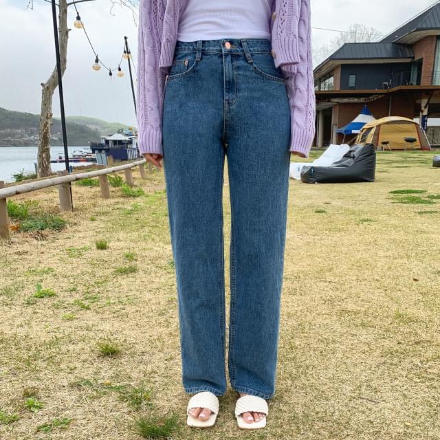 Trendy straight maxi pants