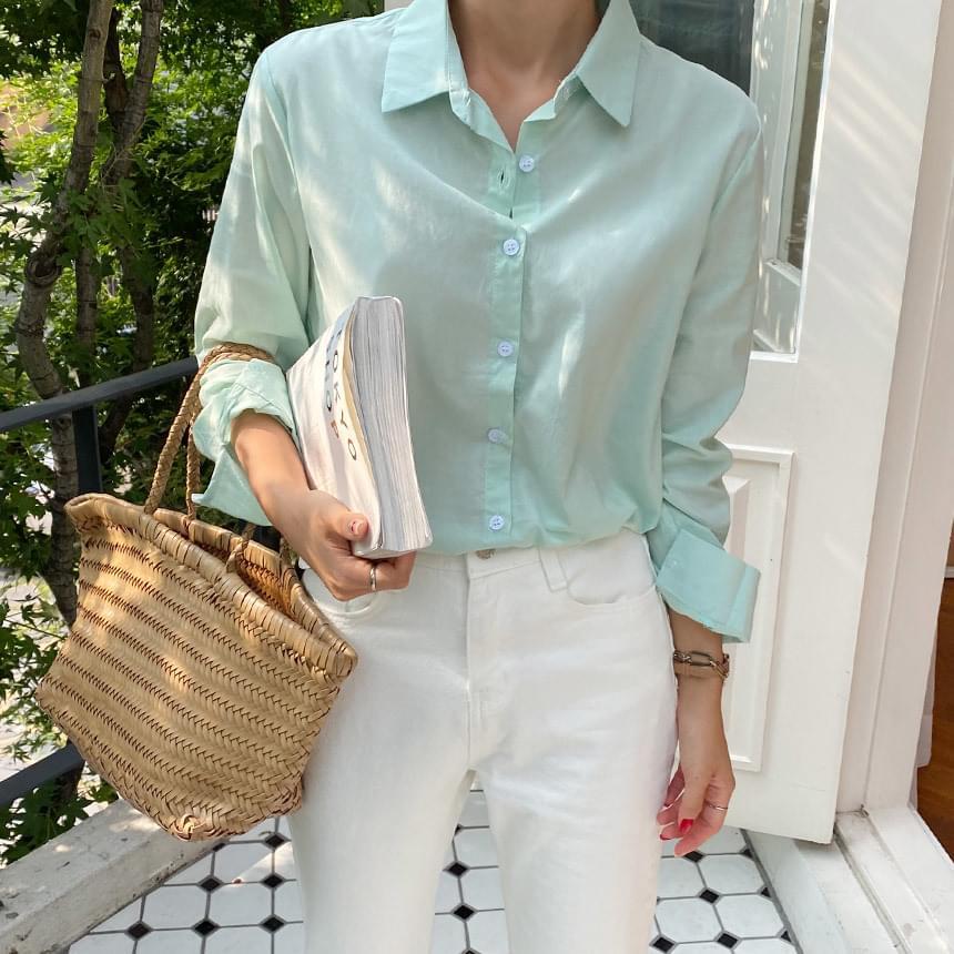 Manny Daily Pastel Basic Shirt