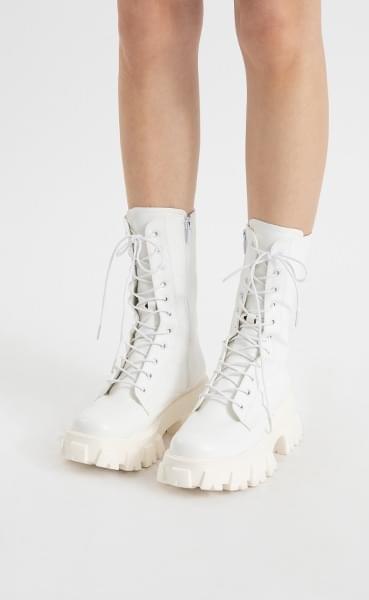 Bike lace-up walker boots 靴子