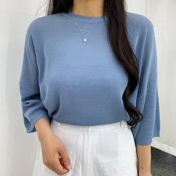 Lodi Boxy Fit Short Sleeve Knit