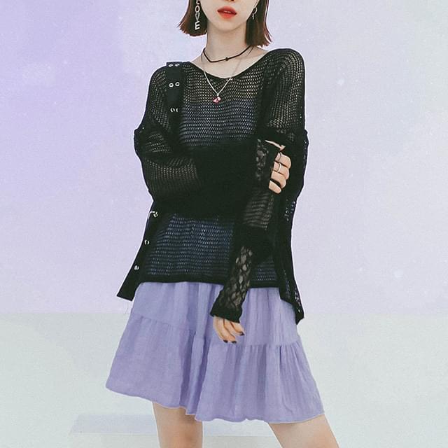 Becon net knit