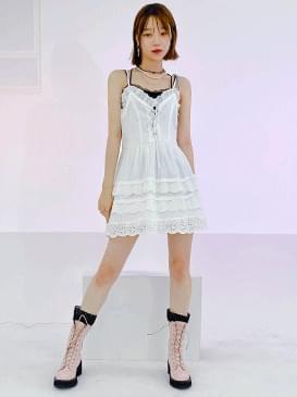 Eyelet Kate Mini Dress