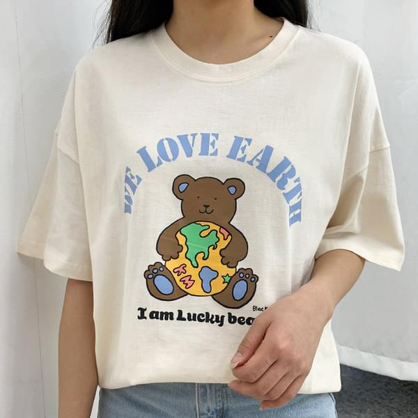 Earth Bear Short Sleeve Tee