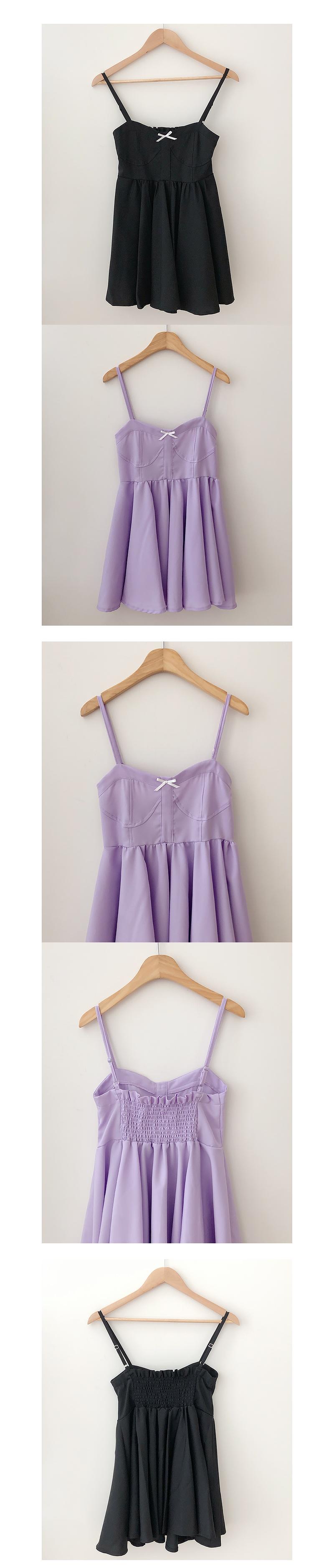 Rossley Ribbon Smoke Dress