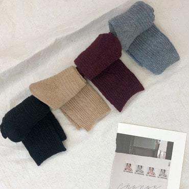 韓國空運 - Wool Twisted socks 襪子