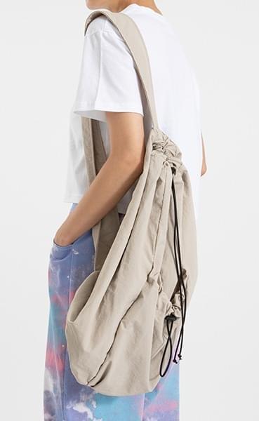Nylon string backpack