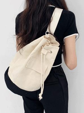 Combi canvas shoulder bag