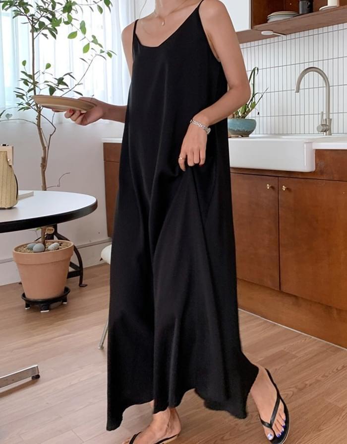 韓國空運 - Melosley Bristle Flare Dress 長洋裝