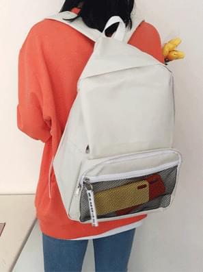 韓國空運 - Mesh Big Backpack 後背包