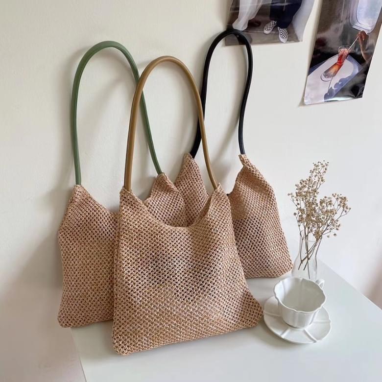 Urban Bros Melty Straw Shoulder Bag 3colors