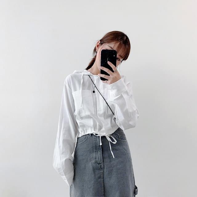 Merry Pocket Hood shirt