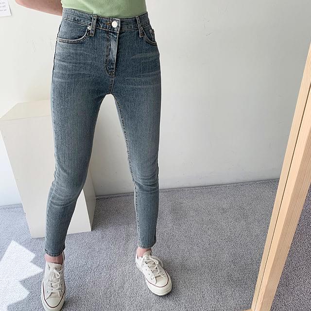 Half high slim skinny