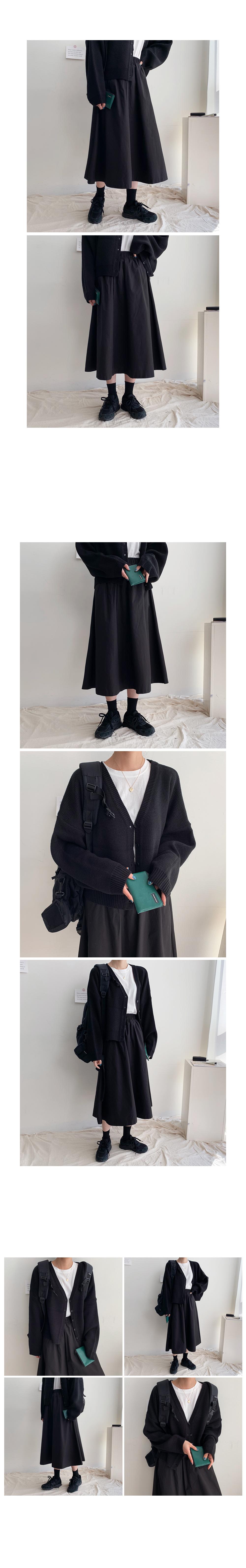 New Wind Long Skirt