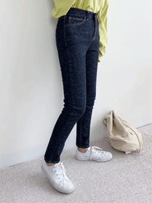 韓國空運 - Aki Raw denim pants 牛仔褲