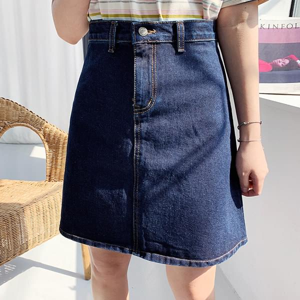 Ronnie Denim Skirt