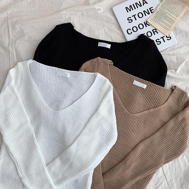 Warm up neck knit