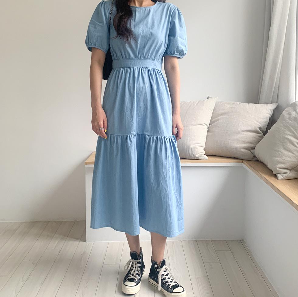 Cancan Denim Dress