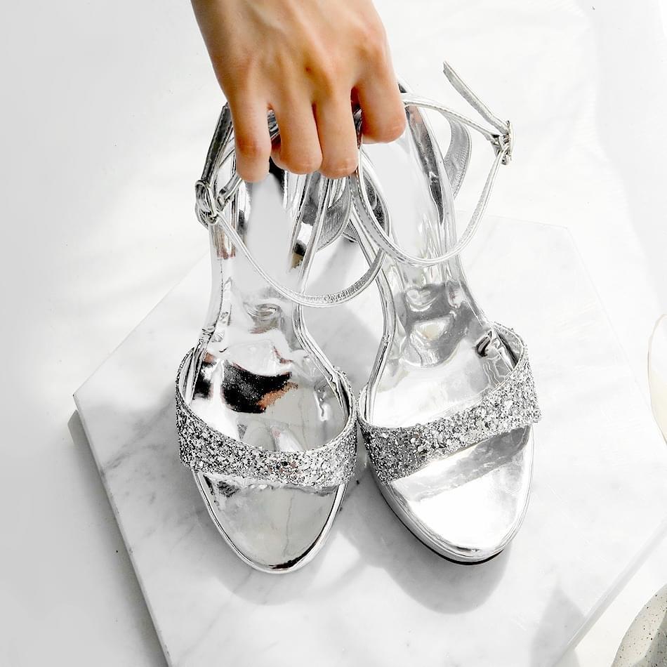 Sela Gaboroshi Strap Sandals 12cm