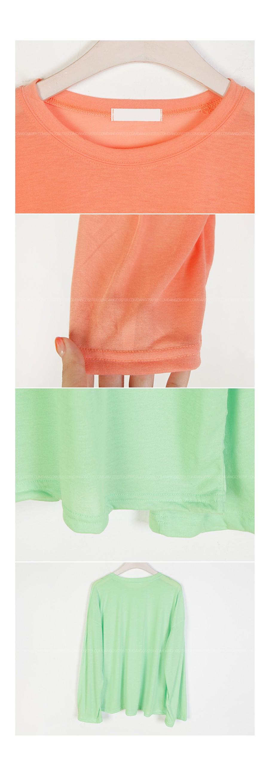 Beach Color Long Sleeve T